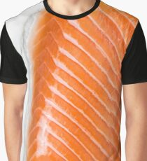 rohes Lachsfilet Graphic T-Shirt
