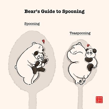Bear's Guide to Spooning by PandaNPolarBear