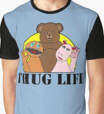 Rainbow - Thug Life Graphic T-Shirt
