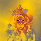 Queen Gold Mother Nature Pepe Psyche by Pepe Psyche