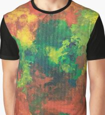The After - acrylics on board Graphic T-Shirt