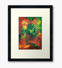 The After - acrylics on board Framed Print