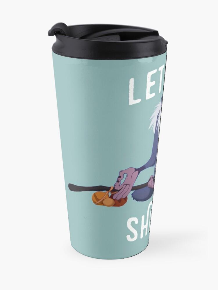 Alternate view of Let that shit go Travel Mug