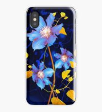 clématites/clematis iPhone Case/Skin