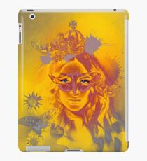 Queen Gold Mother Nature Pepe Psyche iPad Case/Skin