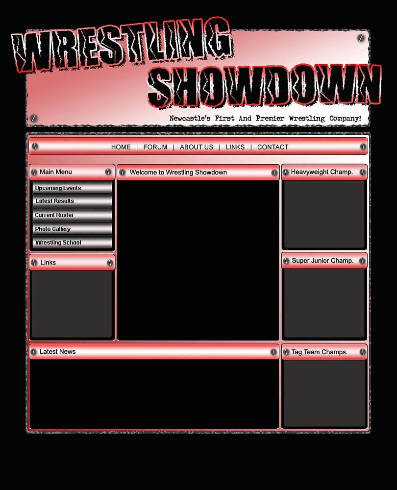 Wrestling showdown PSD.  by Kelly  Fitzpatrick
