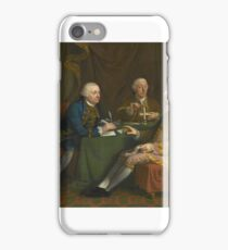 Hugh Douglas Hamilton PORTRAIT OF GEORGE MONTAGU DUNK, 2ND EARL OF HALIFAX iPhone Case/Skin