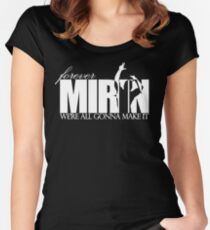 Forever Mirin (version 2 white) Women's Fitted Scoop T-Shirt