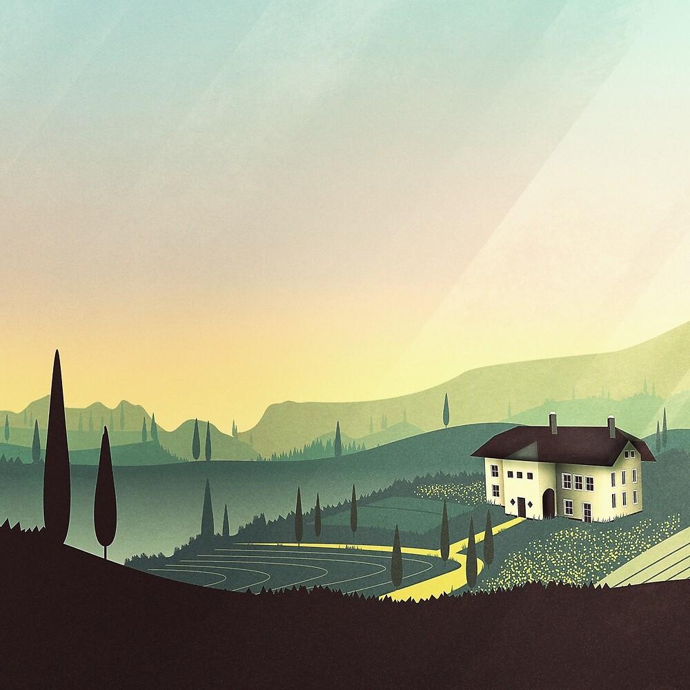 Tuscany Fairytale by schwebewesen