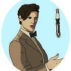 11th doctor by Harrenhalghost