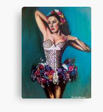 Hand Painted Dancer Canvas Print