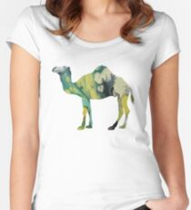 Dromedary  Women's Fitted Scoop T-Shirt