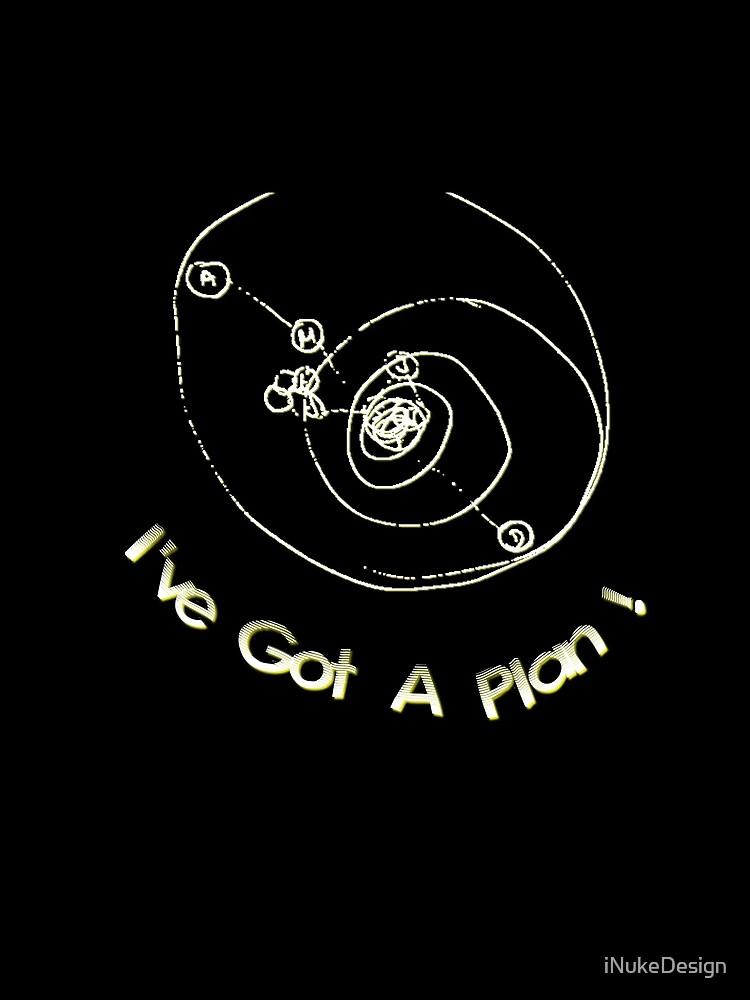 I've Got A Plan! dark/black backgrounds by iNukeDesign