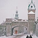 Quebec City Walls by caymanlogic