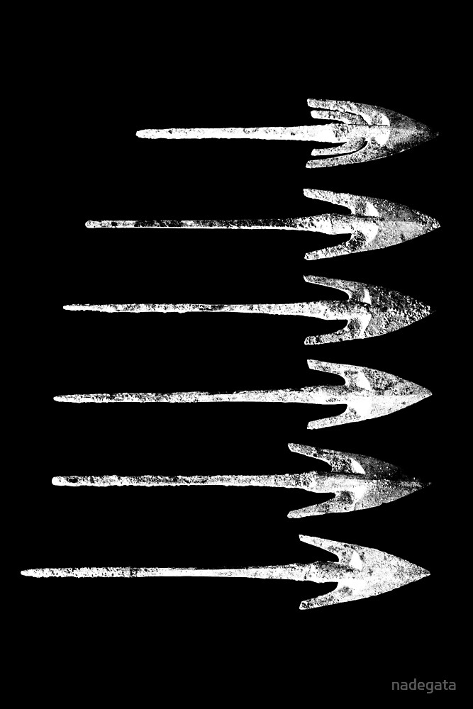 Iron Age Arrows by nadegata