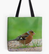 The Tiny Seed - Where Shall I Plant It? - Chaffinch - NZ Tote Bag