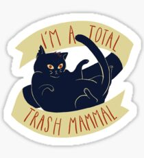 Trash Mammal Sticker
