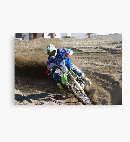 Motocross Action; USA Metal Print