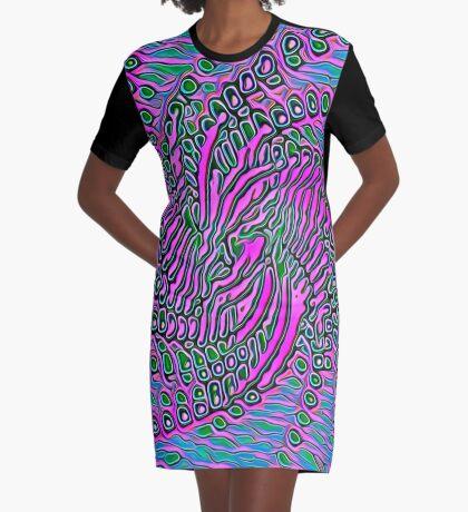 Alien Graphic T-Shirt Dress