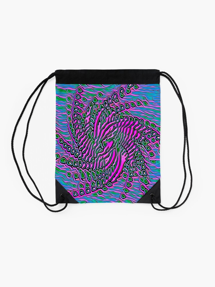 Alternate view of Alien Drawstring Bag