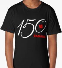 Canada 150, Canada Day Celebration Tshirt / Decor Long T-Shirt