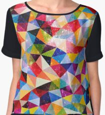 Space Shapes Women's Chiffon Top