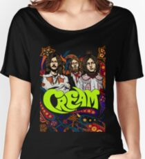 Cream Band, Clapton, no background Women's Relaxed Fit T-Shirt