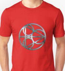 Dirk Gently Symbol - Gilded Silver Unisex T-Shirt
