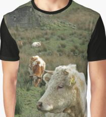 Thoughtful cows Graphic T-Shirt