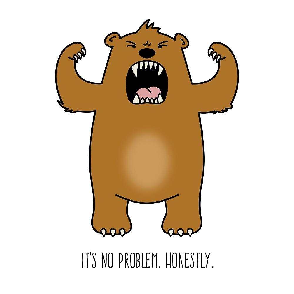 No Problem Bear by gerryhaze