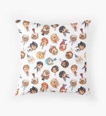 Chibi ACOTAR Throw Pillow