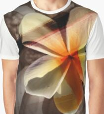 Frangipani Paint Graphic T-Shirt