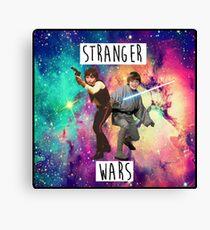 Stranger Things & Star Wars Canvas Print