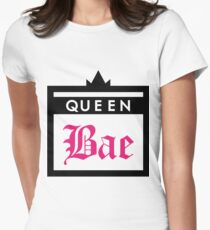 Queen Bae Womens Fitted T-Shirt