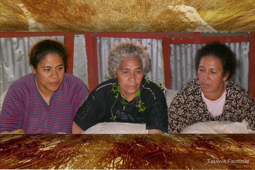 Women's Tapa Making Club by taueva faotusia