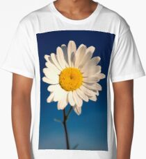 Blue,White,Yellow Long T-Shirt