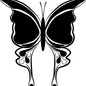 Black butterfly by botanicalsbyV