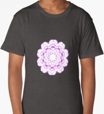 Flower Mandalas  Long T-Shirt