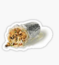 chipotle burrito  Sticker