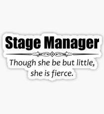 Stage Manager Sticker
