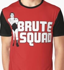 André the Brute Squad Graphic T-Shirt