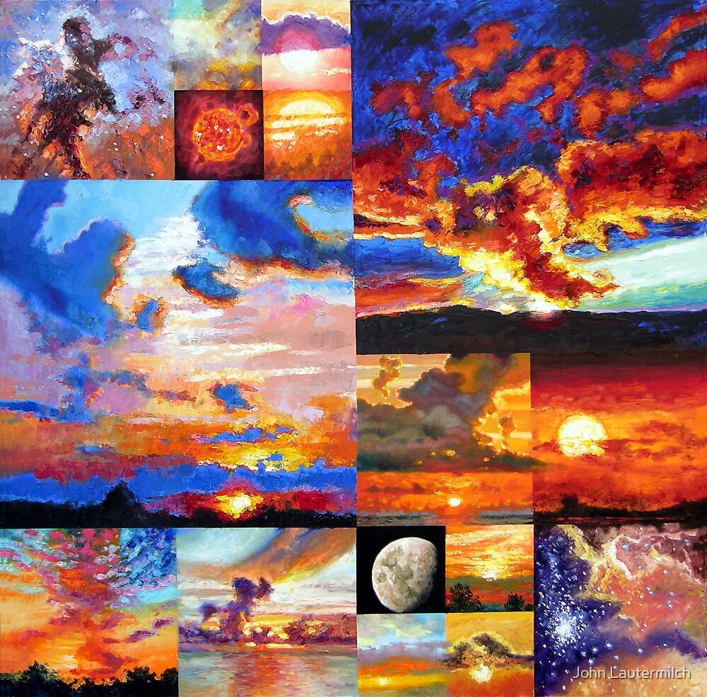 Sunrise, Sunset, Sunrise . . . by John Lautermilch