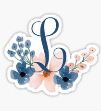 Monogram L Sticker