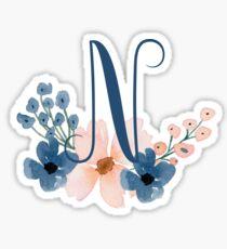 Monogram N Sticker