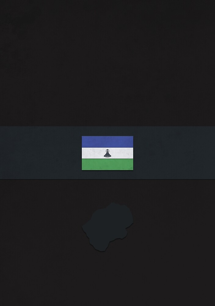 Lesotho by FlatFlags