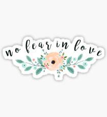 keine Angst in der Liebe Sticker