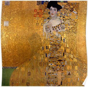 Klimt Artwork Poster
