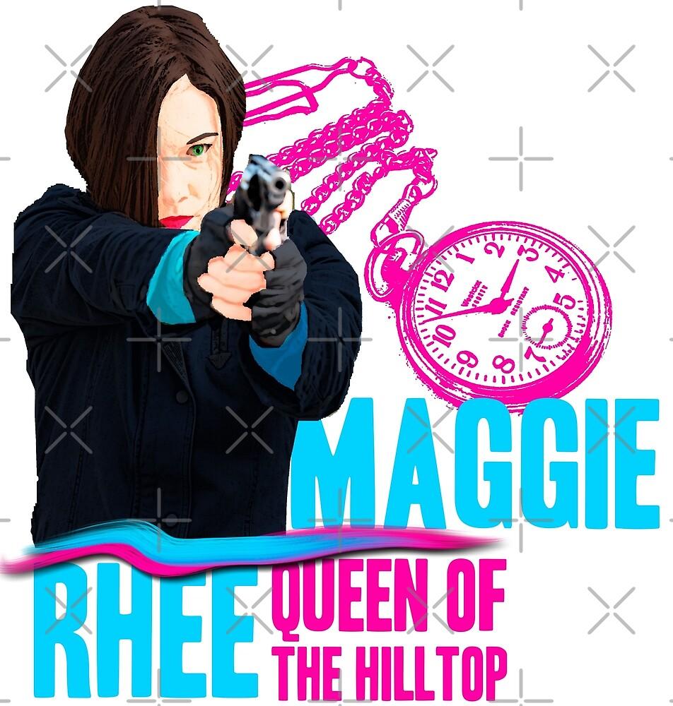 Maggie Rhee by gracefullmess