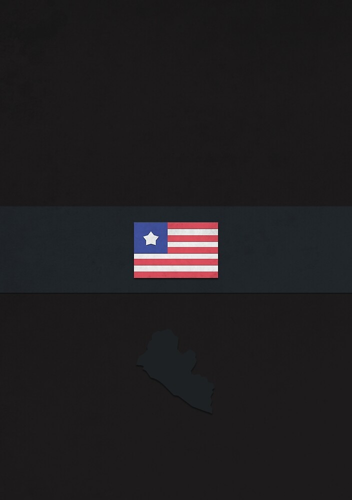 Liberia by FlatFlags