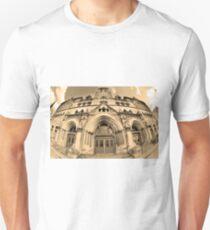The Customs House Nashville Tennessee Sepia Unisex T-Shirt